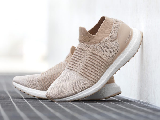 Adidas Ultra Boost Laceless In Legend Ink And Nude