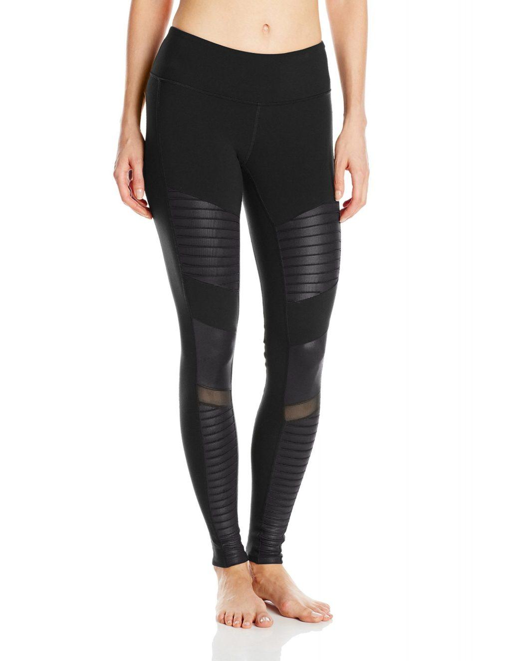 best black leggings Alo Yoga Women's Moto Legging
