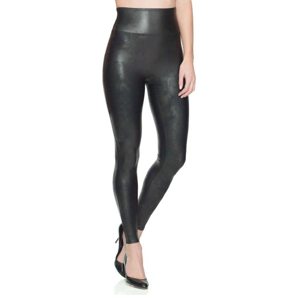 best black leggings SPANX Women's Faux Leather Leggings