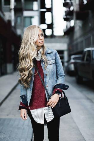 How To Wear A Jean Jacket 2018 Styles And More Hi Fashion