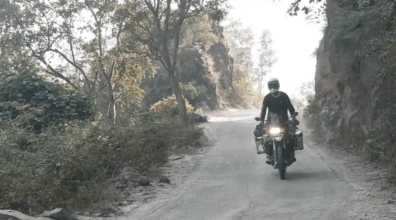 motorreis door Nepal