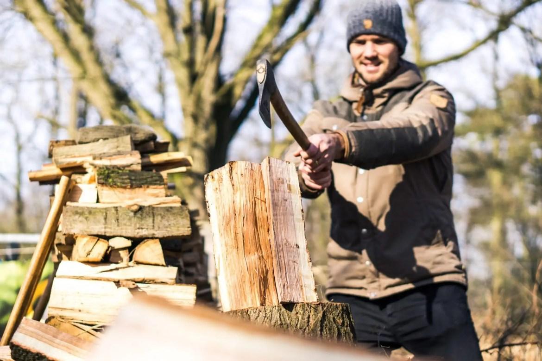 Klieven hout hakken