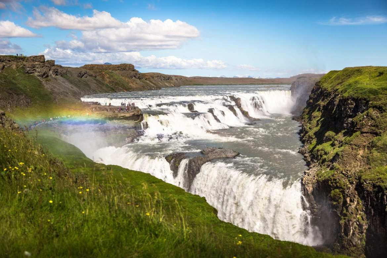 mooiste watervallen Gullfoss mike-benna-_AgBFH7qIaI-unsplash