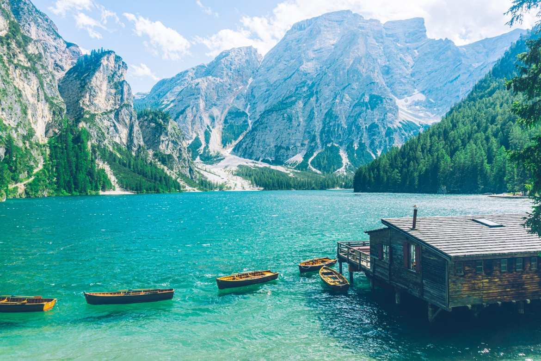 Meren Zuid Tirol Pragser Wildsee Lago di Braies header