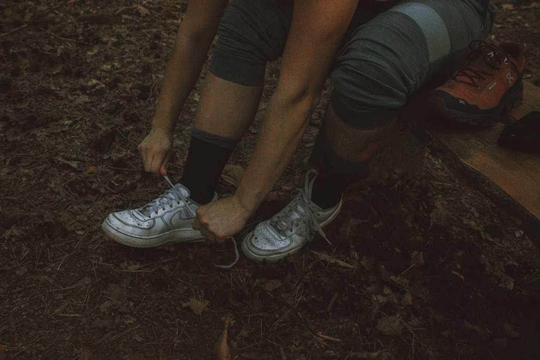 On running socks