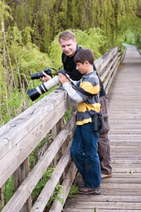 kids guide to birding, nature with children, kids photography, michael rohani, lorenzo rohani