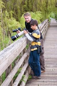 kids guide to birding, nature with children, kids photography, michael rohani, lorenzo rohani