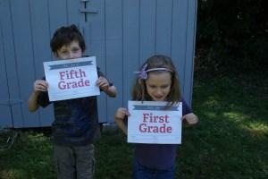 first day of school, homeschool
