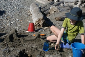 west beach, deception pass state park, kids in nature