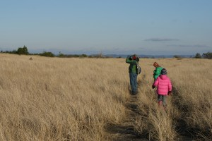 birding with children, snowy owls, damon point, kids in nature