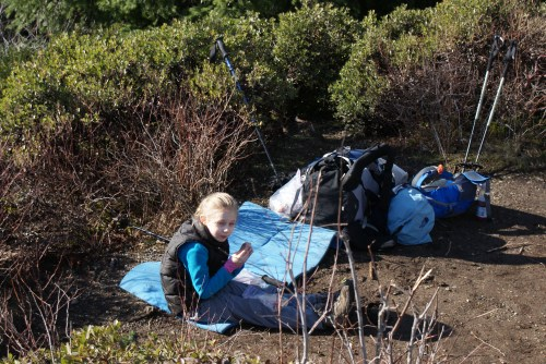kids in nature, hiking with children
