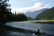 thunder creek trail, colonial creek campground