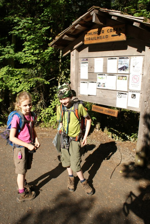 hiking with children, colonial creek campground,