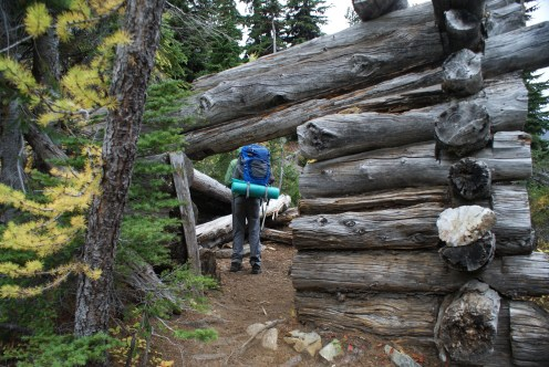 hiking with children, blue lake, north cascades