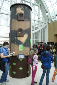 2015 northwest flower and garden show, cornell lab of ornithology
