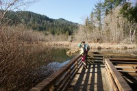 McLane Creek Trail, hiking with children