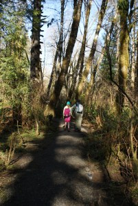 mclane creek trail, kids in nature
