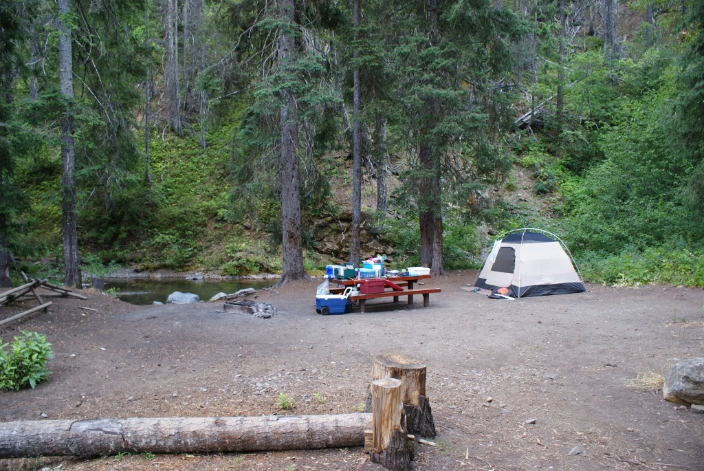 teanaway campgrounds, camping with chiildren