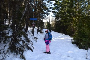 blewett pass snowshoeing, snowshoeing with children, winter hiking