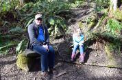 Sehome hill arboretum, bellingham hikes, nature walks for kids, spring