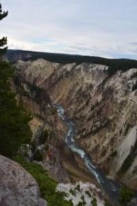 yellowstone, river, canyon
