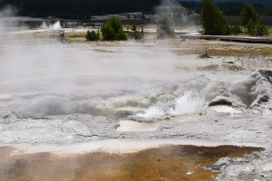 yellowstone, biscuit basin, geyser