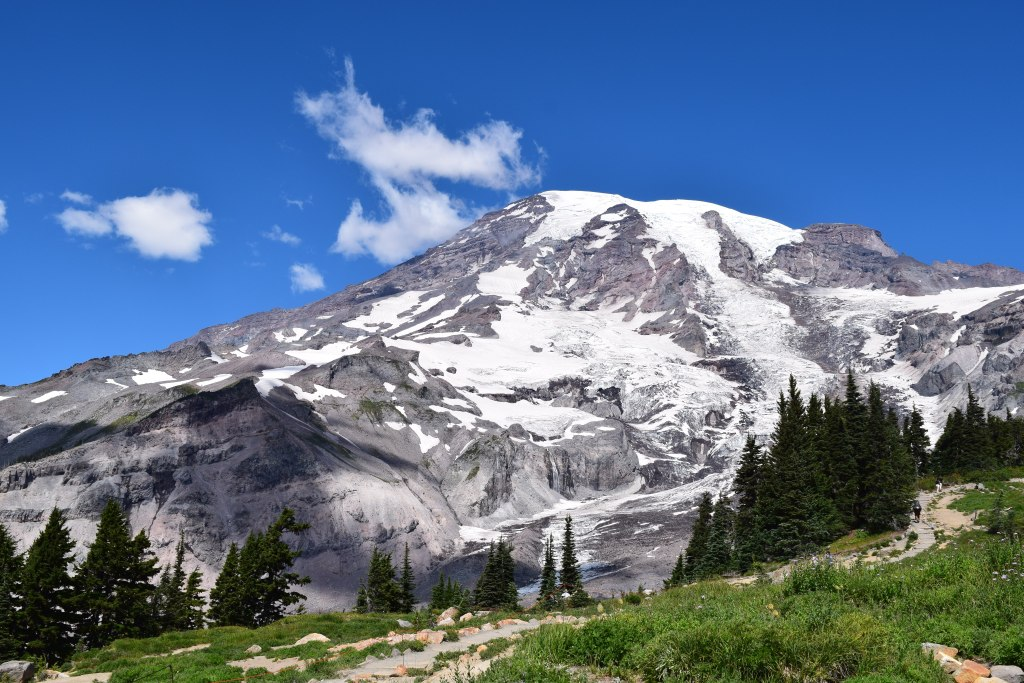 mount rainier national park, paradise trails, hiking with children