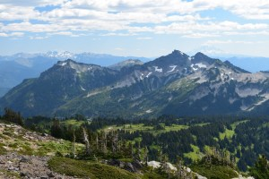 paradise trails, panorama point, views, mount rainier national park, summer hikes for kids