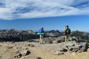 burroughs mountain trail, best hikes for kids, kids in nature, mt rainier, sunrise area trails, alpine, fall hiking