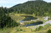 chain lakes trail, best hikes for kids, mt. baker, fall hiking