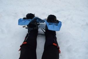 hillsound armadillo lt gaiters, snowshoe, msr