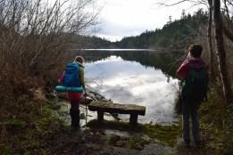 heart lake, anacortes, hiking with kids, winter hikes, acfl