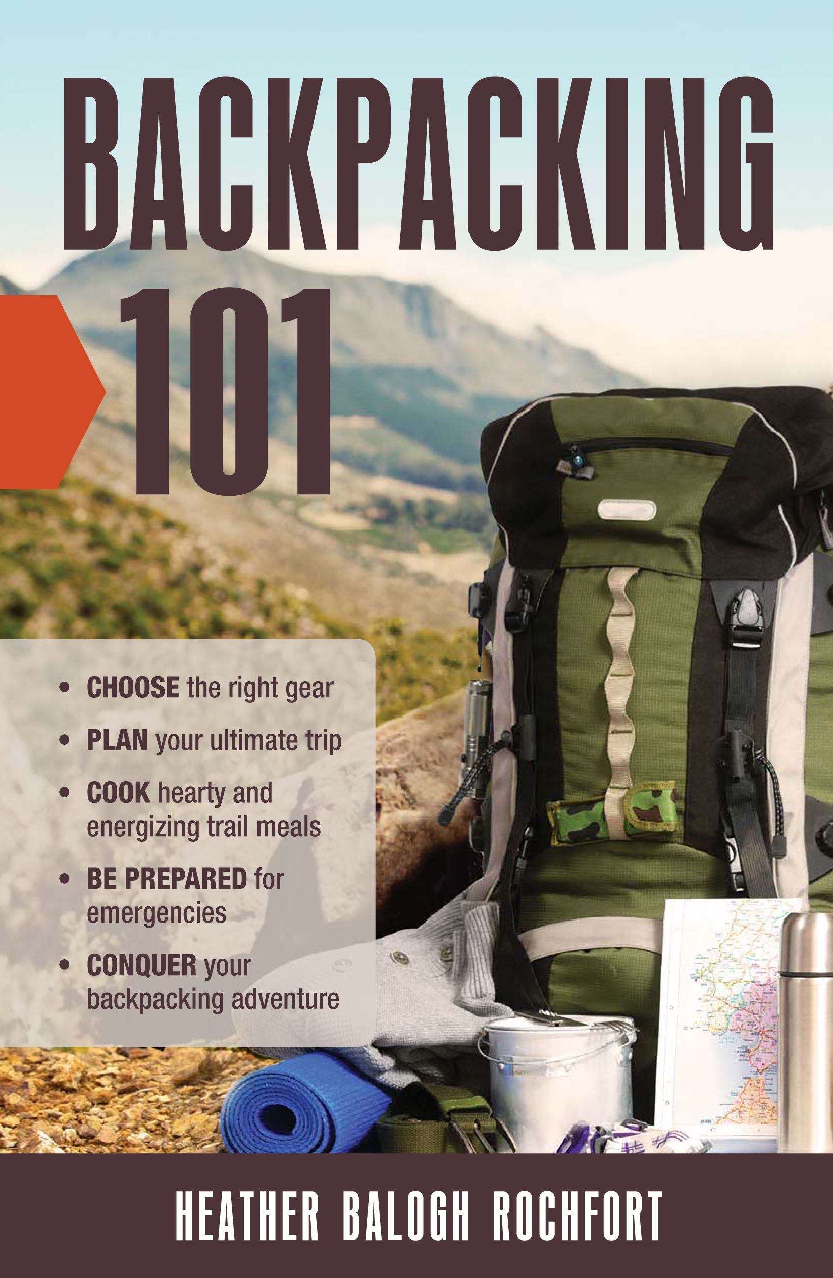 Book Review and Interview: Backpacking 101 by Heather Balogh Rochfort