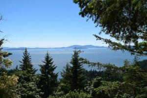 larrabee state park, fragrance lake trail, best hikes for kids, summer, padilla bay, salish sea