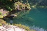 blue lake, best hikes for kids, hiking with children, summer, fall, water