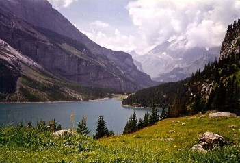 Lake Oeschinen, Switzerland, 1997