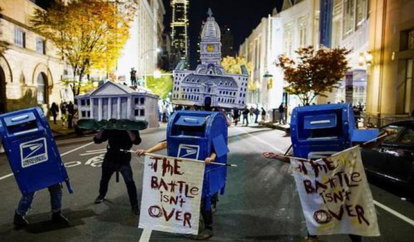 U.S. elections 2020 | Philadelphia police probe alleged plot to attack vote counting venue