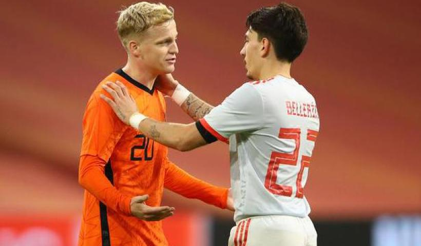 de Beek to the rescue for the Netherlands