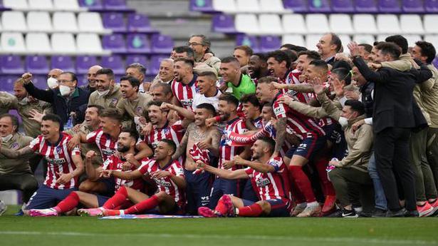 Atletico Madrid clinches La Liga title thanks to Suarez winner against Valladolid