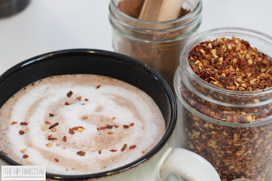 How to Make Fiery Chilli Hot Chocolate - The Hip Homestead