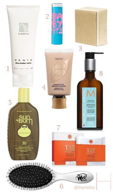 Best Products for Summer Hair and Skin Care