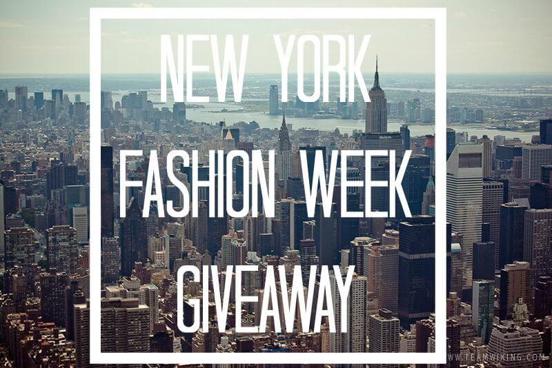Want to go to Fashion Week? Enter for your chance to win!! // www.thehisfor.com