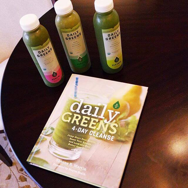 Daily Greens Juice Cleanse // www.thehisfor.com