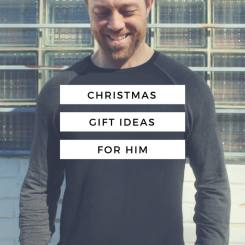 The H is For... Holiday Shop // Christmas Gift Ideas For Him // www.thehisfor.com