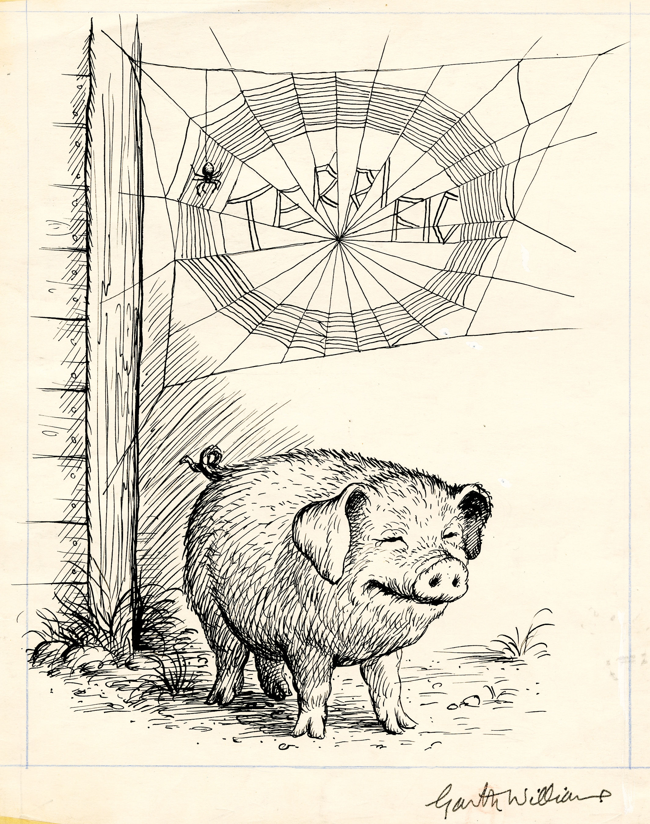 The History Blog Blog Archive Iconic Charlotte S Web