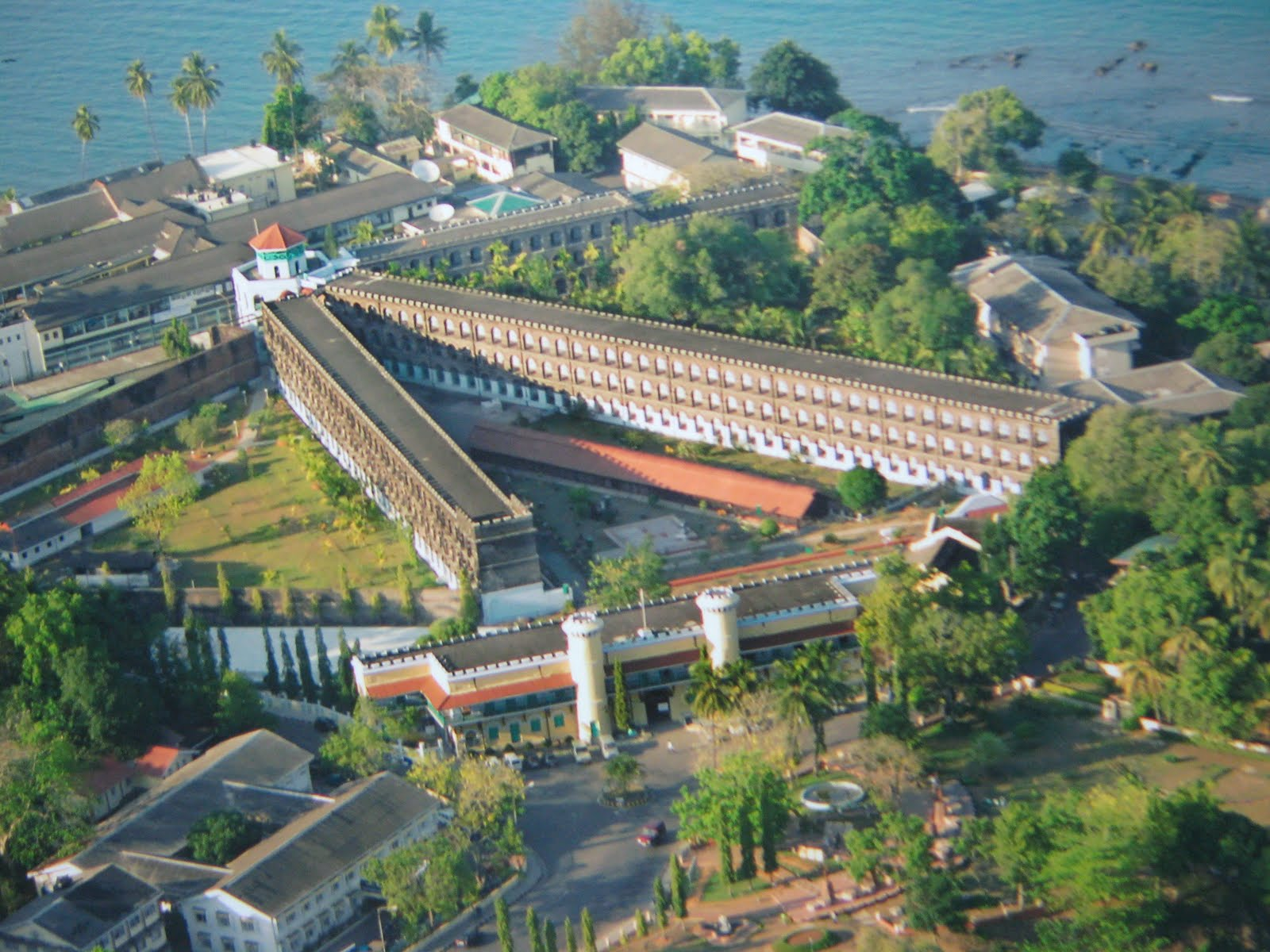 Image result for cellular jail top view