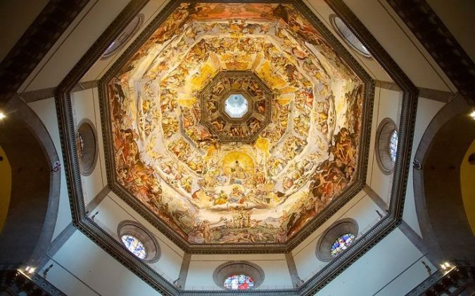 Florence Cathedral Historical Facts and Pictures   The History Hub Florence Cathedral Interior Dome