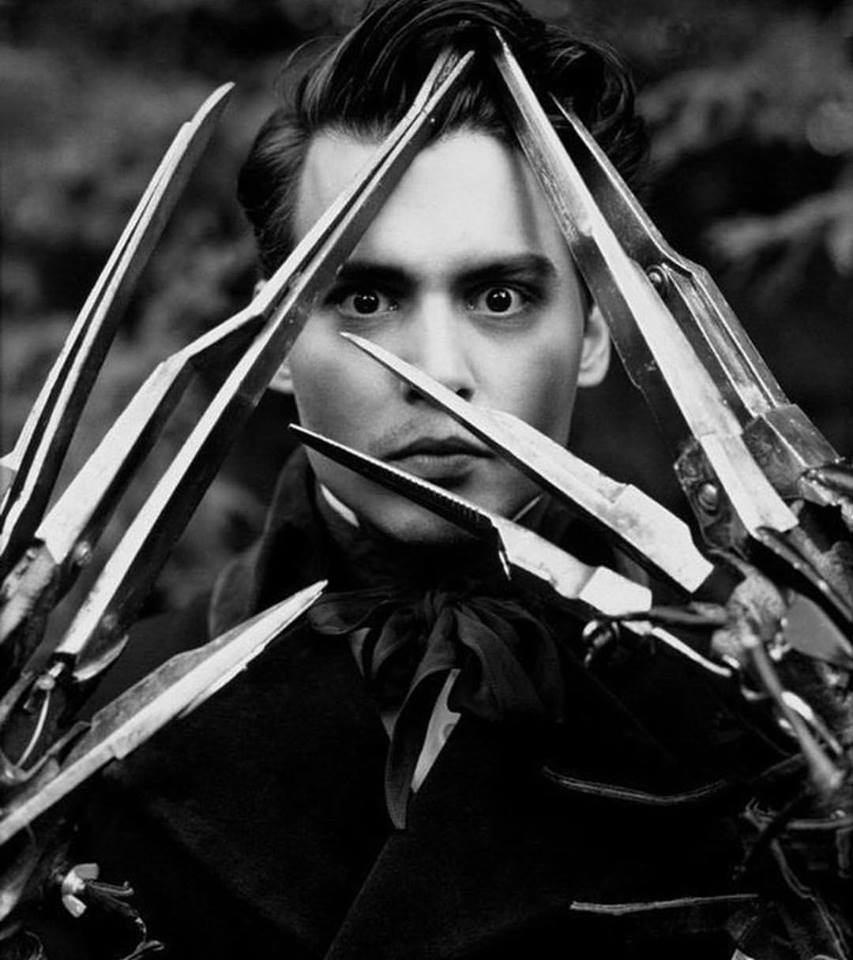 Johnny Depp as 'Edward Scissorhands' (1990)