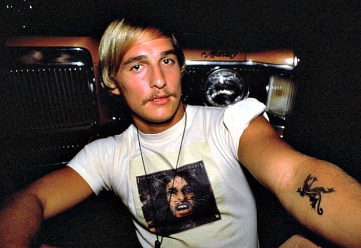 Matthew McConaughey in 'Dazed and Confused' (1993)