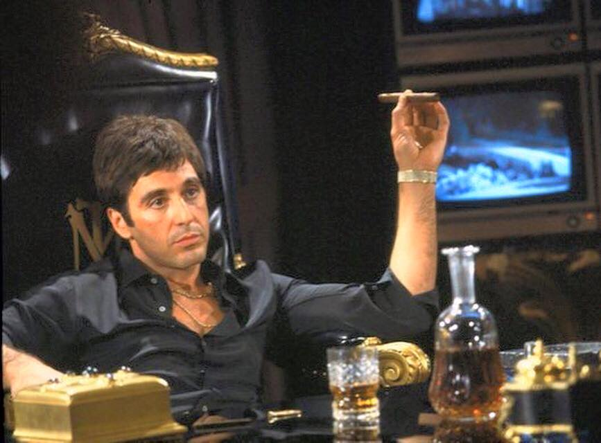 Al Pacino in 'Scarface' (1983)